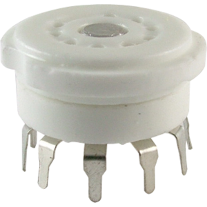 Socket - 9 Pin, Miniature, Ceramic PC, China