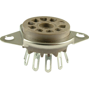 Socket - Belton, 9 Pin, Miniature, Top Mount