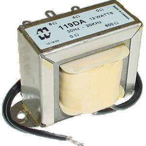 Transformer - Hammond, Audio Interstage, 12 Watt