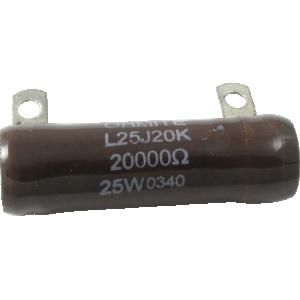 Resistor - Ohmite, 25 W, 20K Ohm, each