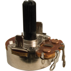 Potentiometer - Neohm, 200K, Linear, Twist Tab Mount