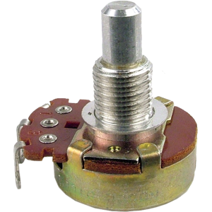 Potentiometer - Linear, 100 Ohm, 1/4 in Shaft