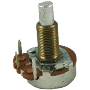 "Potentiometer - 100K Reverse Audio, 24mm, 5/8"" Bushing"