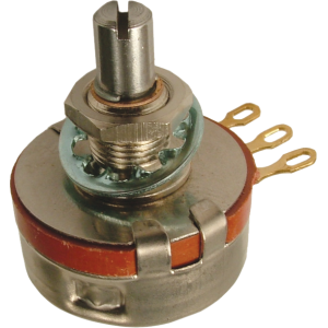 Potentiometer - Alessandro, 10K, Audio, Solid Shaft, 2W, Mil. Spec