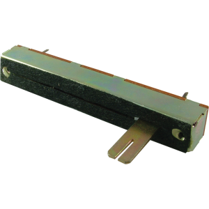 Potentiometer - 10K Linear, Slide, 88mm, Slotted 15mm TAB