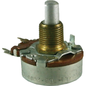 "Potentiometer - 200K Linear, 24mm, 3/8"" Bushing"