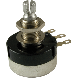Potentiometer - Audio, Knurled Shaft, Sealed, 24mm