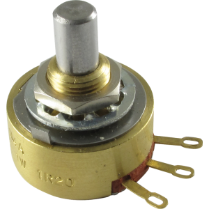 Potentiometer - Alessandro, 250K, Audio, Solid Shaft, 1W