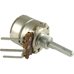 "Potentiometer - 2M Linear, Push-Pull Switch, .185"" DIA. Shaft"