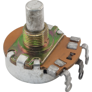 "Potentiometer - 2M AudioTaper, 1/4"" Shaft"