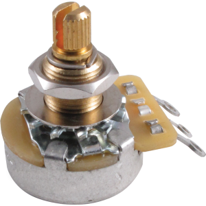 Potentiometer - Gibson, 300K Linear Taper, Long Shaft
