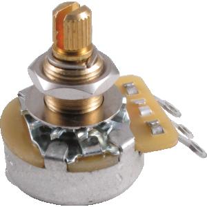 Potentiometer - Gibson, 300K Linear Taper, Long Shaft