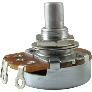 "Potentiometer, Alpha, reverse audio, 3/8"" bushing"