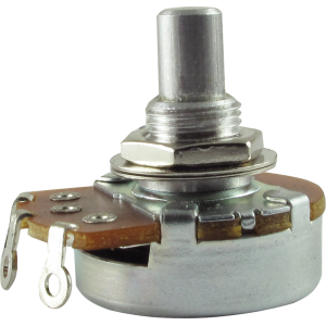 "Potentiometer, Alpha, Audio, 3/8"" bushing"