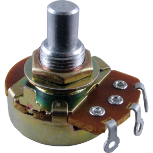 "Potentiometer, Alpha 250K audio, 3/8"" bushing"
