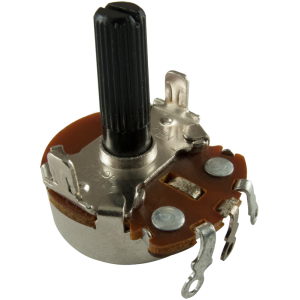 Potentiometer - Neohm, 500K, Linear, Twist Tab Mount