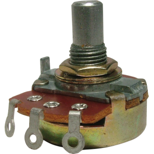 Potentiometer - Alpha, Audio, Solid Shaft