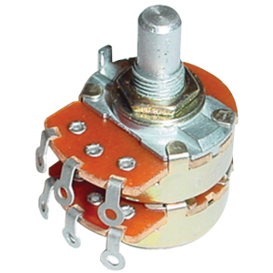 Potentiometer - Alpha, Audio, Dual
