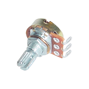 Potentiometer - Alpha, 300K, Linear, Knurled Shaft, 16mm