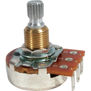 Potentiometer - Bourns, Linear, Knurled Shaft