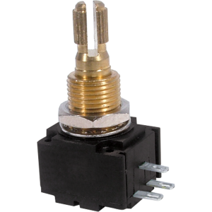 Potentiometer - Bourns, Audio, Knurled Shaft, 24mm