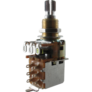 Potentiometer - Bourns, Audio, Knurled Shaft, Push-Pull, Mini