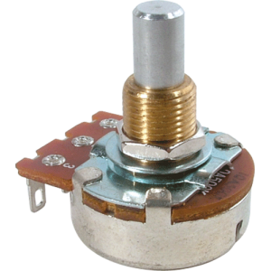 Potentiometer, 24mm solid shaft, audio, Bourns, 10k - 1M