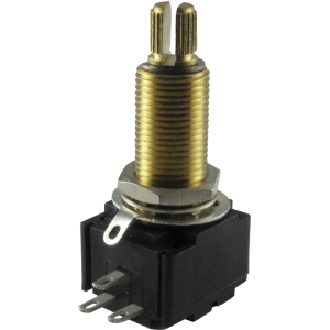 Potentiometer - Bourns, Linear, Knurled Shaft, Conductive Polymer