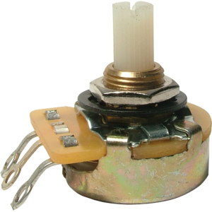 Potentiometer - CTS, Audio, Splined Nylon Shaft