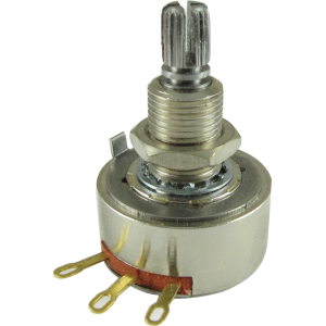 Potentiometer - PEC Guitar, 500K, Audio, Long Bushing