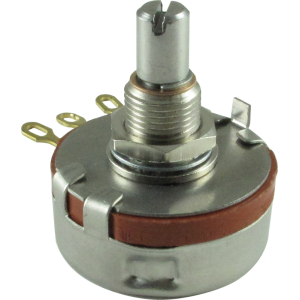 Potentiometer - Precision Electronics, Audio, Slotted Solid Shaft