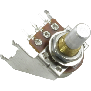 Potentiometer - Linear, Solid Shaft, Snap-In, Bracket