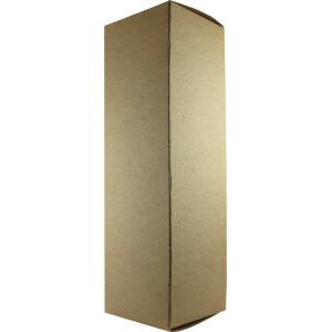 "Tube Box - Brown 3"" x 3"" x 10"", Fits 211/VT4C, 845"