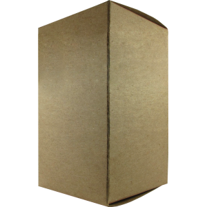"Tube Box - Brown, 3"" x 3"" x 5"""