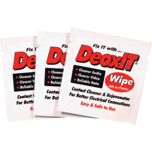 DeoxIT® Wipes (50), 100% solution, Caig
