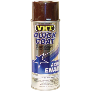 Paint - VHT Quick Coat, dark brown, for use with Wrinkle Finish
