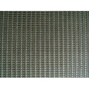 "Grill Cloth, Black/Silver, Original Ampeg, 34"" Wide"