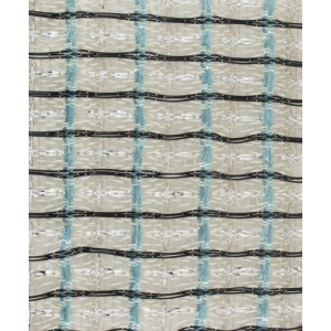 "Grill Cloth, Guitar, Blue/Black/Silver/White, 34"" Wide"