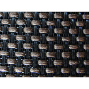 "Grill Cloth - Brown Basket, 34"" Wide"