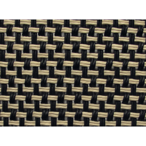 "Grill Cloth - Marshall, Salt & Pepper, 32"" Wide"
