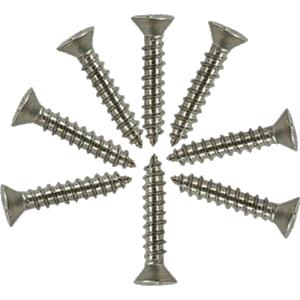 "Screw - Stainless Steel Flat Head, #6 x 3/4"""