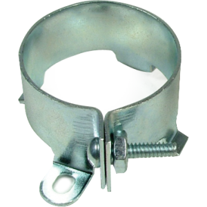 "Clamp for capacitor, 1-3/8"" diameter"
