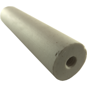 "Form - Ceramic, 2-1/2"" x 1/2"" Diameter, 6-32 Threads"