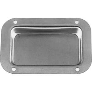 "Jack Plate - Plain Dish, 9/16"" Deep, 18 Gauge Steel"