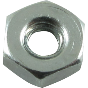 Nut - Hex, Zinc, 4/40 Diameter