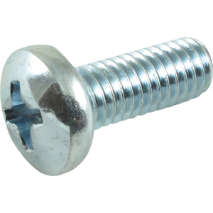 "Screw - Machine, Phillips Pan Head, 10/32 x ½"", Zinc"