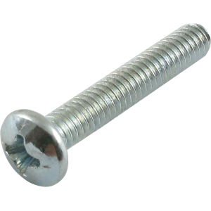 Screw - 8/32, Phillips, Pan Head, Machine, Zinc