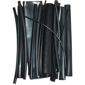 "Heat Shrink - Assorted diameters, 6"" long, 23 pieces"
