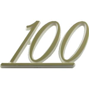 Logo - Genuine Marshall, Gold Lettering, 100