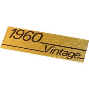 Plate - Marshall, 1960 Vintage